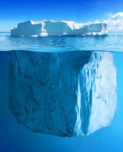 je onbewuste is als de ijsberg onder water: groter dan je bewustzijn